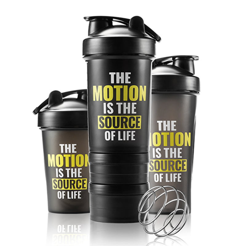 BlenderBottle Shaker Bottle Perfect for Protein Shakes and Pre Workout
