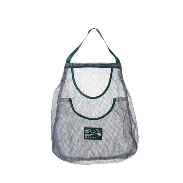 Durable Mesh Tote Shopping Bag for Indoors Grocery Storage or Outdoors Activities
